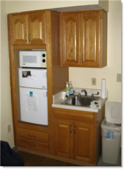 Assisted Living kitchen